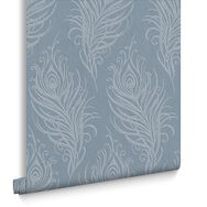 Quill Blue Wallpaper, , large