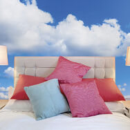 Fotobehang Clouds, , large