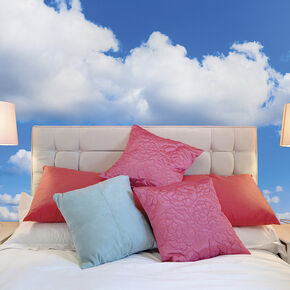 Clouds Wall Mural, , large