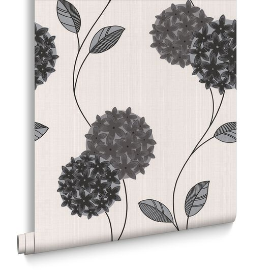 Pippa Black and White Wallpaper, , large