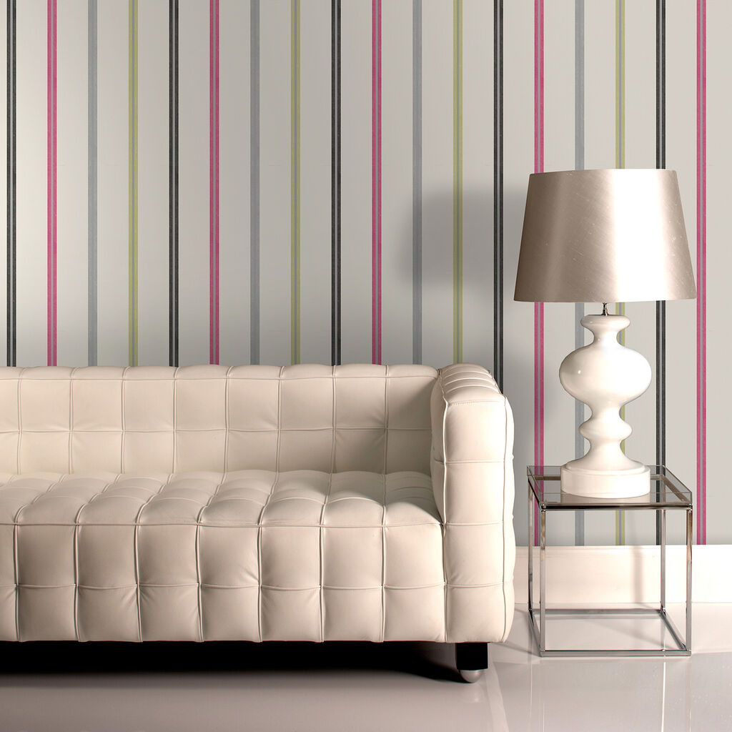 signature stripe wallpaper graham brown. Black Bedroom Furniture Sets. Home Design Ideas