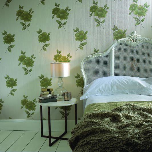 Lulu Green Wallpaper, , large