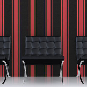 Orla Black and Red Wallpaper, , large