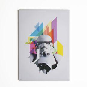 Star Wars Neon Stormtrooper Neon Printed Canvas, , large