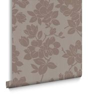 Kelly Hoppen Rose Gold & Taupe Behang, , large