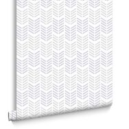 Oiti Gris Mauve Wallpaper, , large