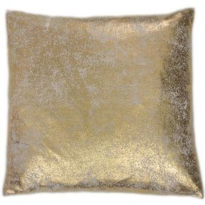 Gold Shimmer Metallic Cushion, , large