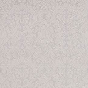 Geneva White and Mica Wallpaper, , large