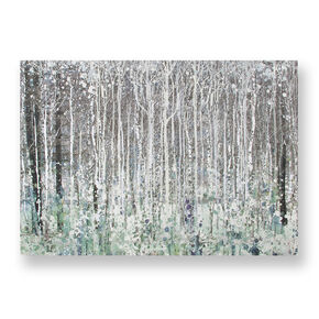 Watercolour Woods Printed Canvas, , large