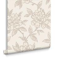 Bloom Gold Wallpaper, , large