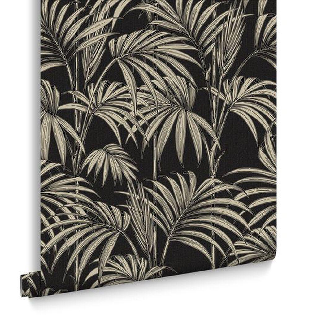 honolulu noir et or papier peint grahambrownfr. Black Bedroom Furniture Sets. Home Design Ideas