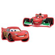 Mini décor en mousse Cars 2 – 2pièces, , large