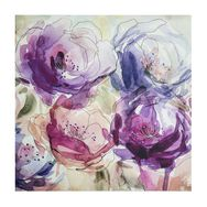 Stitched Spring Blooms  Printed Canvas, , large