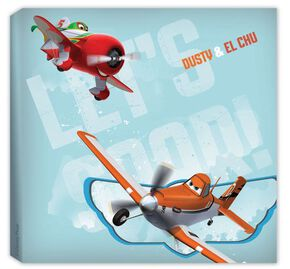 Planes Paper Printed Canvas, , large
