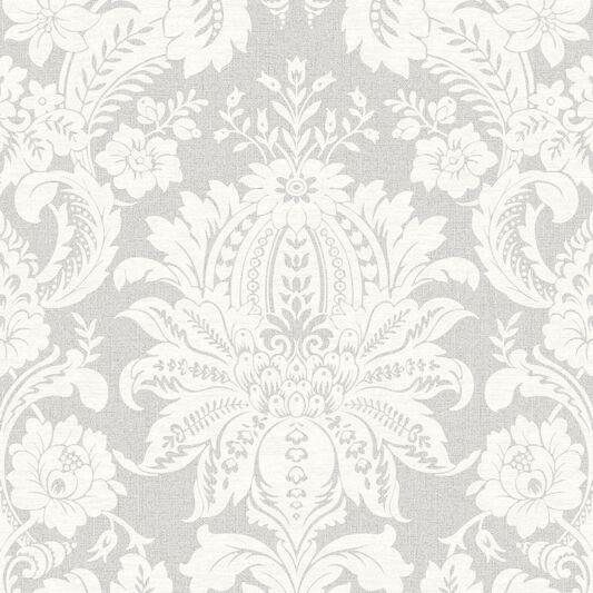 venetian damask grey wallpaper grahambrownuk. Black Bedroom Furniture Sets. Home Design Ideas