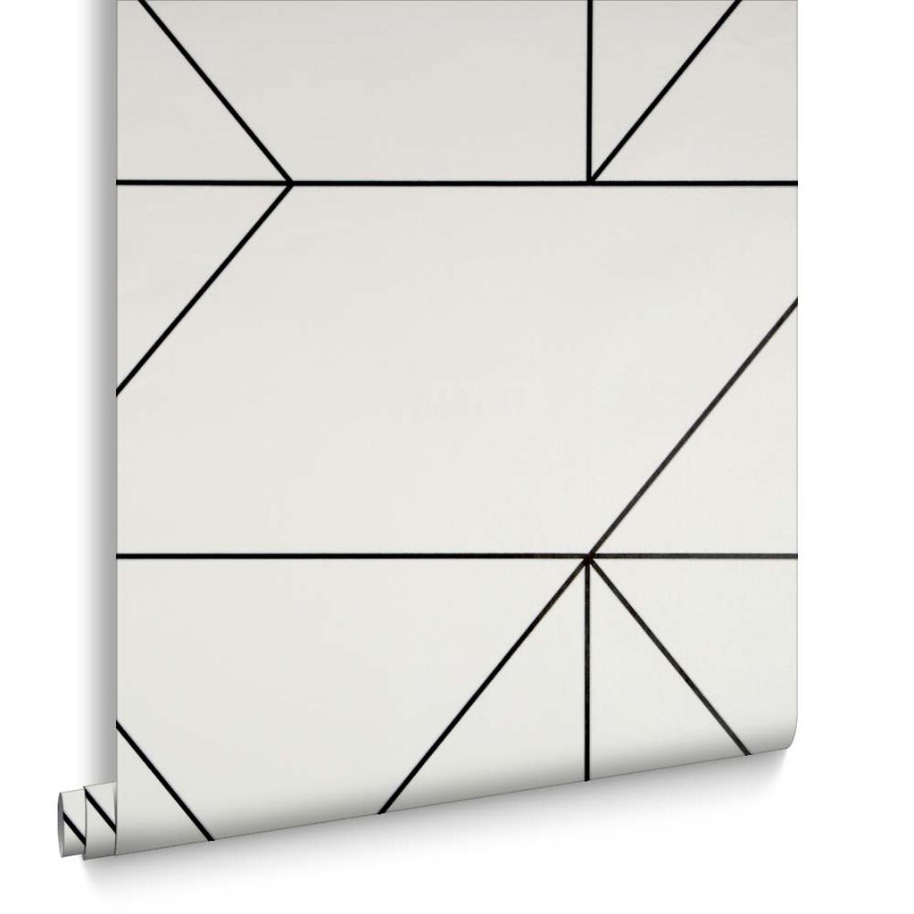 Buy marble rose gold silver and floral geo triangles rectangular - Geo Black And White Wallpaper