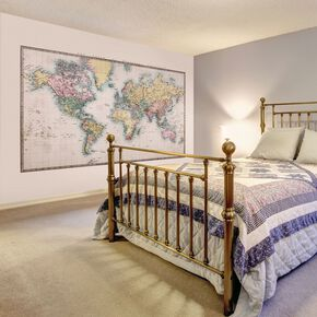 Historic World Wall Mural, , large