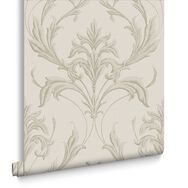 Oxford Cream Behang, , large