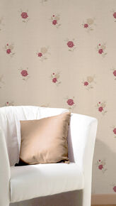Rosalyn Red Wallpaper, , large