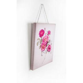 Botanical Bloom Bouquet Printed Canvas, , large