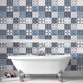 Porches Blue Wallpaper, , large