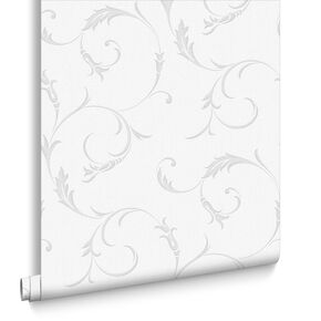 Athena Grey Wallpaper, , large