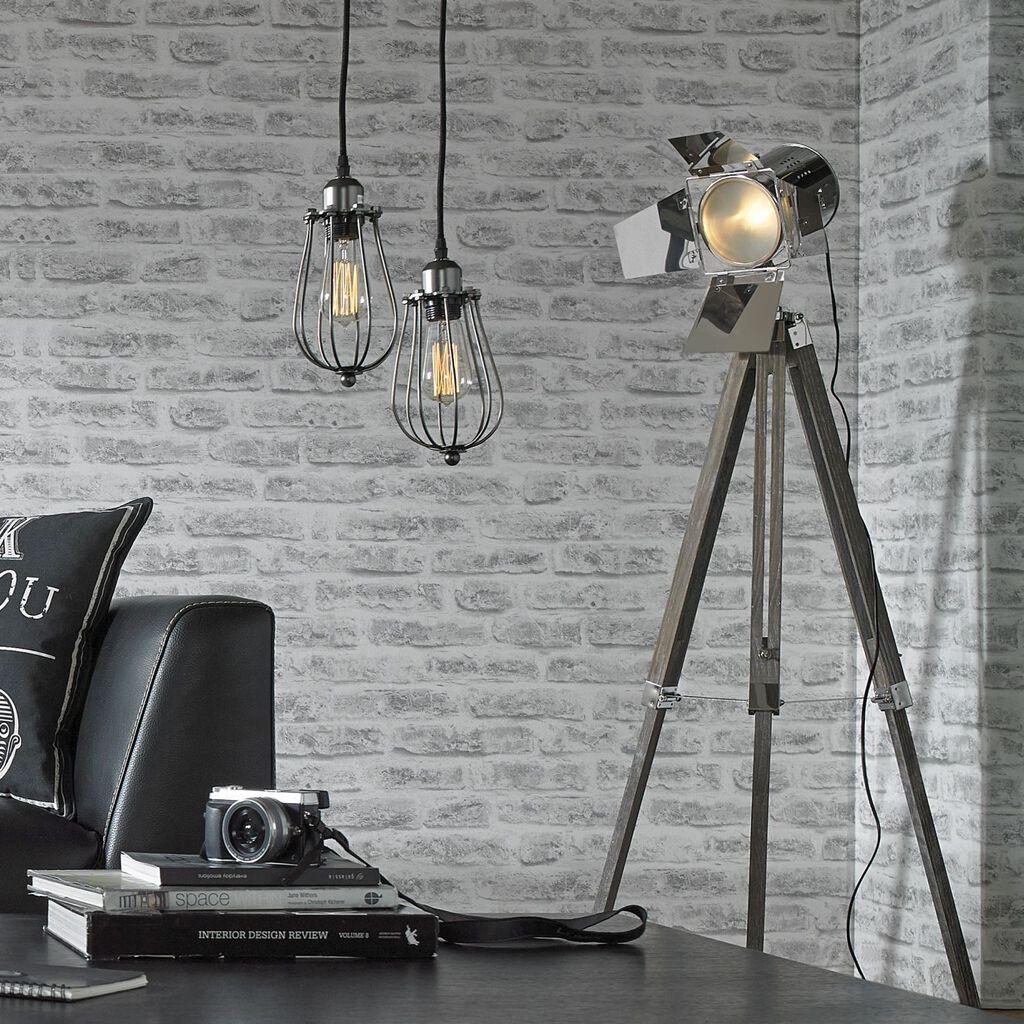 Spotlight Floor Lamp Large Tripod Spotlight Graham Amp Brown