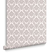 Damask Grey Wallpaper, , large