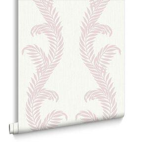 Venus Pink and White Wallpaper, , large