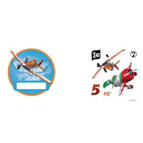 Planes Mini deurstickers, , large
