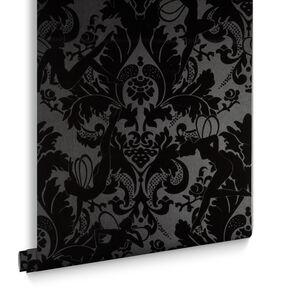 black wallpaper dark wall coverings by graham brown. Black Bedroom Furniture Sets. Home Design Ideas