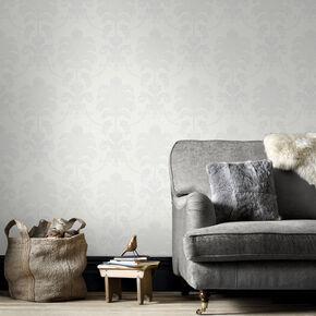 La Palma White Wallpaper, , large
