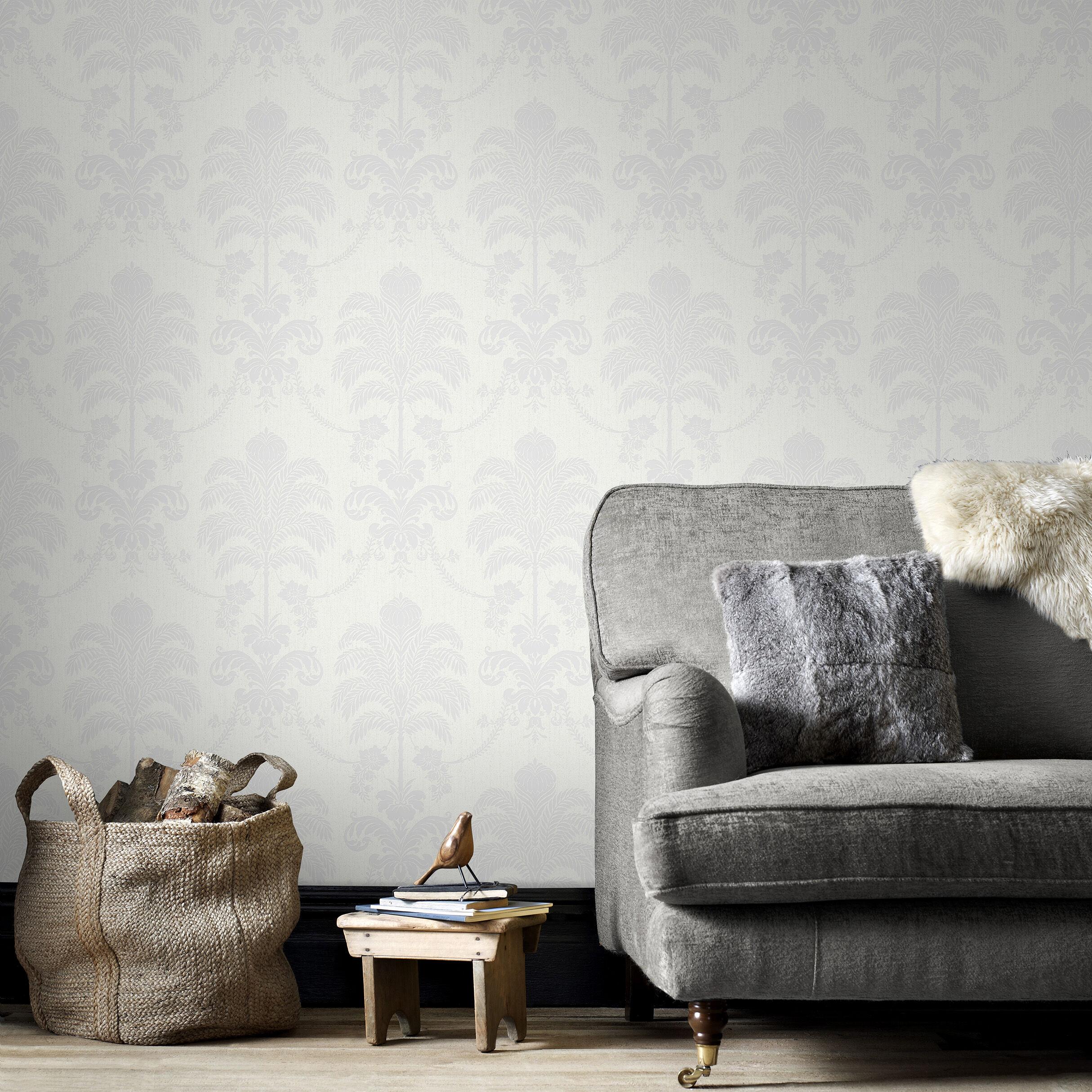 La Palma White Wallpaper, ...