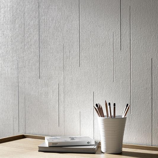 Linear White Wallpaper, , large