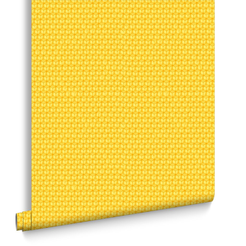 Bright Yellow Wallpaper Yellow Wallpaper  Lemon Bright & Plain Yellow Wallpaper