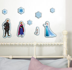 Frozen - 10 piece Foam Stickers, , large