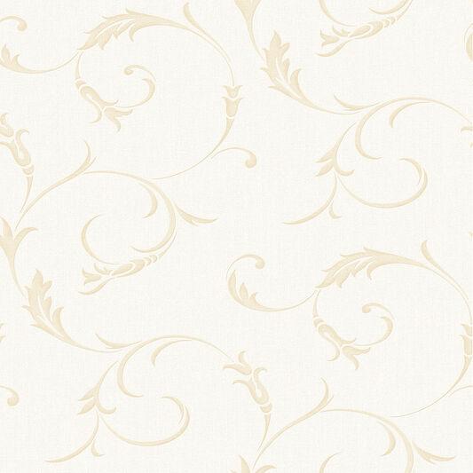 Tapete weiß gold  Athena Tapete Weiß & Gold | Graham & Brown