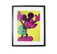 Neon Mickey Mouse, , large