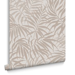 Tropic Beige & Rose Gold Behang, , large
