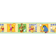 Winnie Puuh Kleine gelbe Bordüre Rolle Kinderdekoration von , , large
