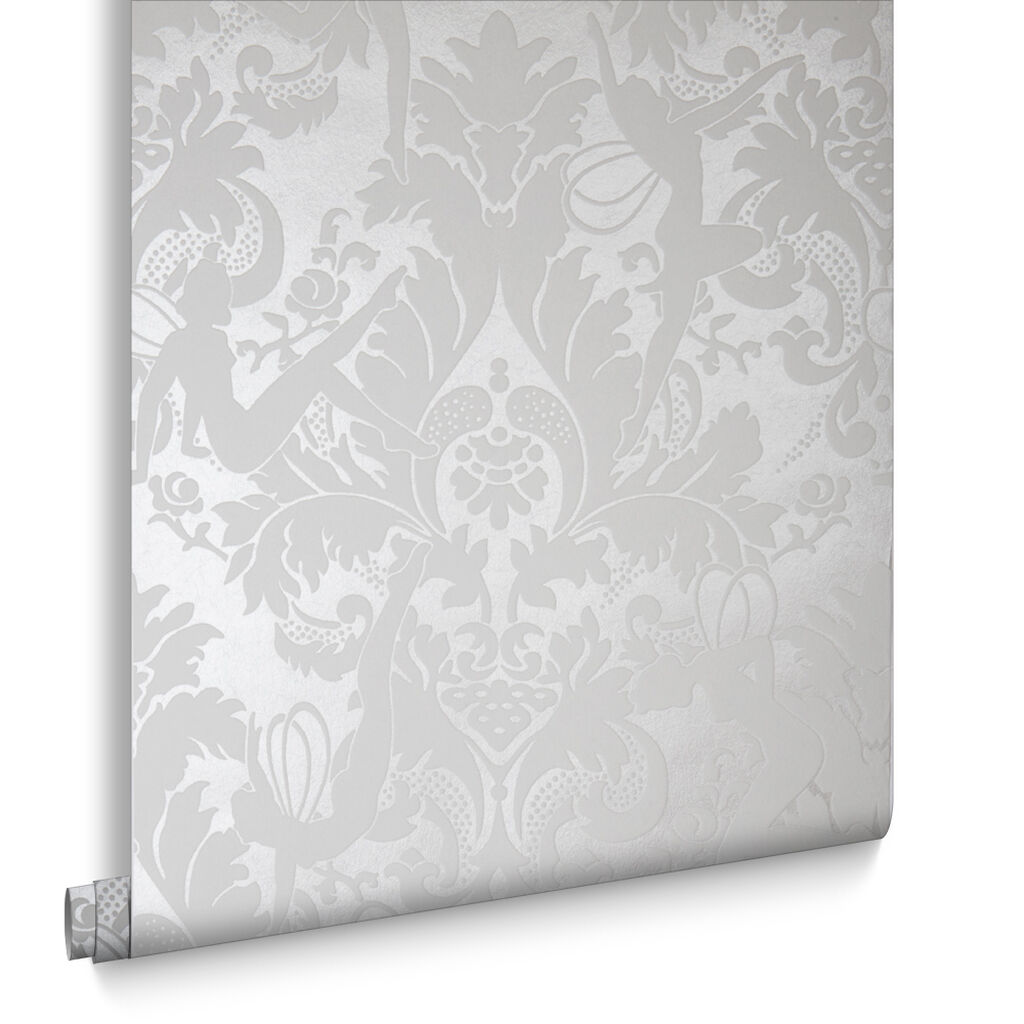 Forest Muses White Wallpaper Graham Amp Brown