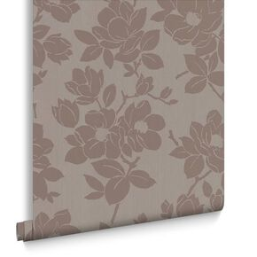 Rose Gold and Taupe Wallpaper, , large