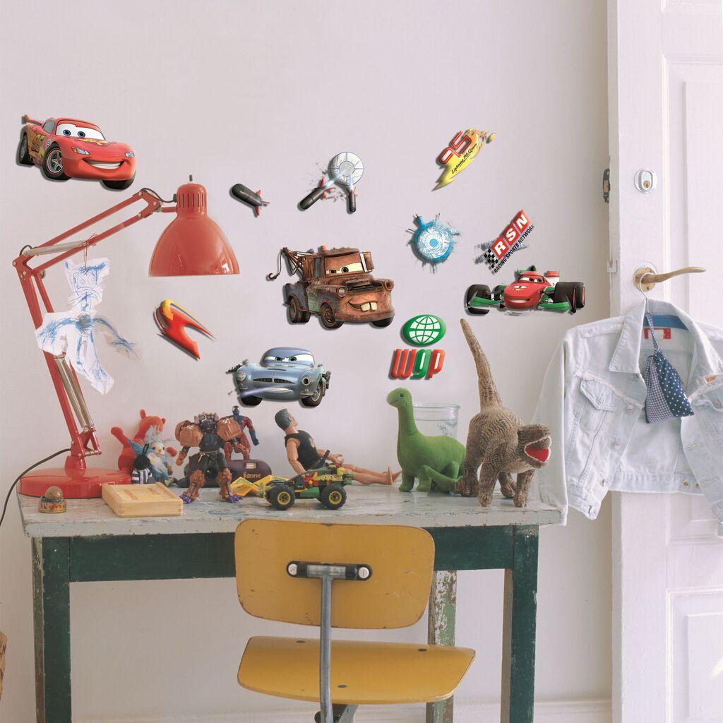 Mini d cor en mousse cars 10 pi ces grahambrownfr - Mousse decoration ...