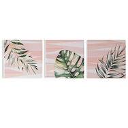 Luscious Leaves Printed Canvas, , large