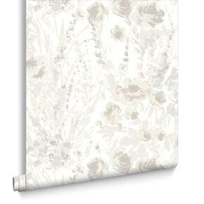 Monet Floral Cream, , large