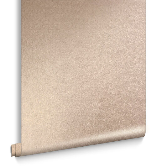 Tranquil rose gold wallpaper matte metallic wallpaper for Home zone wallpaper birmingham