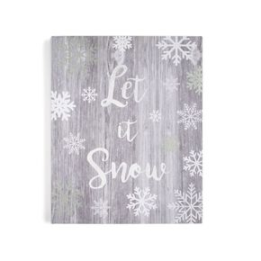 Let it Snow Print, , large