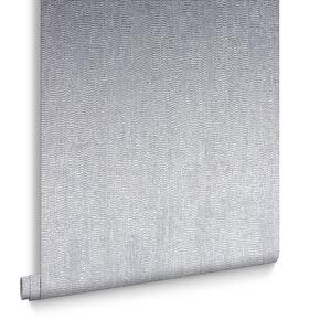 Water Silk Plain Silver Wallpaper, , large