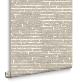 Briquette  Grey Wallpaper, , large