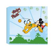 Mickey Printed Canvas (30X30Cm), , large